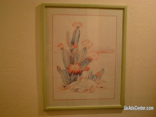 Picture of ART - Arizona Desert Cactus in bloom - 2 set of pictures (41)