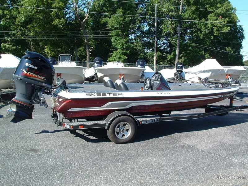Skeeter Bass Boats For Sale >> 2012 Skeeter Zx200 Bass Boat 4000