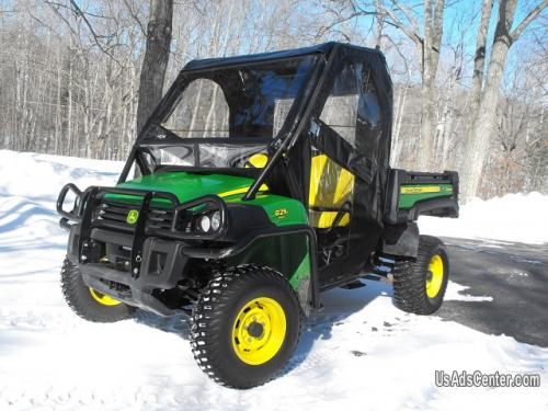 4 210 2010 John Deere Gator Xuv 825i 4x4 Cab 50hp Everything