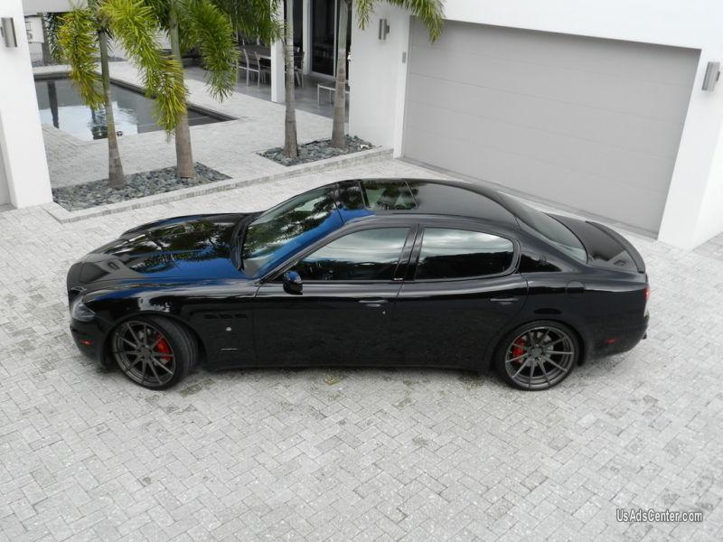 2007 Maserati Quattroporte Sport Gt Sedan 4 Door Cars For Sale